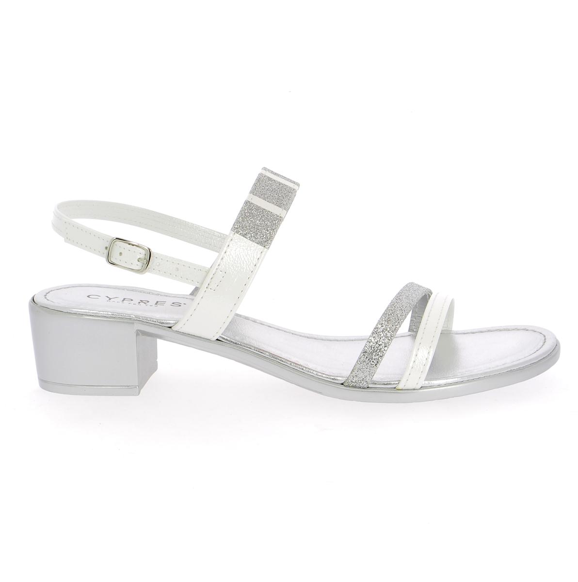 Cypres Sandalen zilver