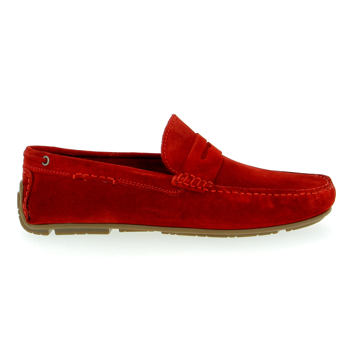 Cypres Moccassins rouge
