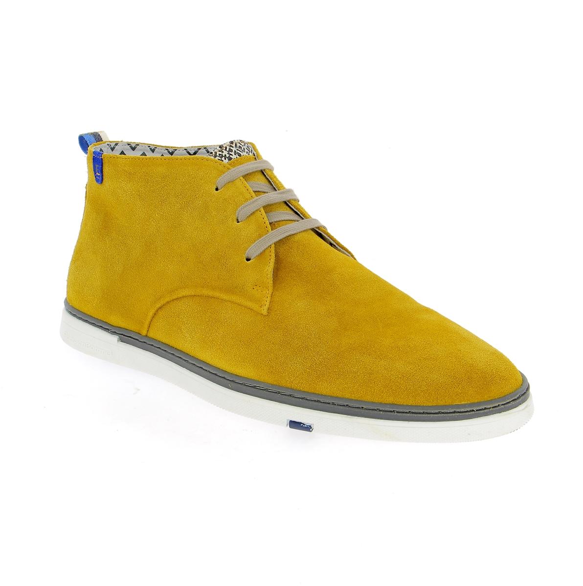 Floris Van Bommel Bottines jaune