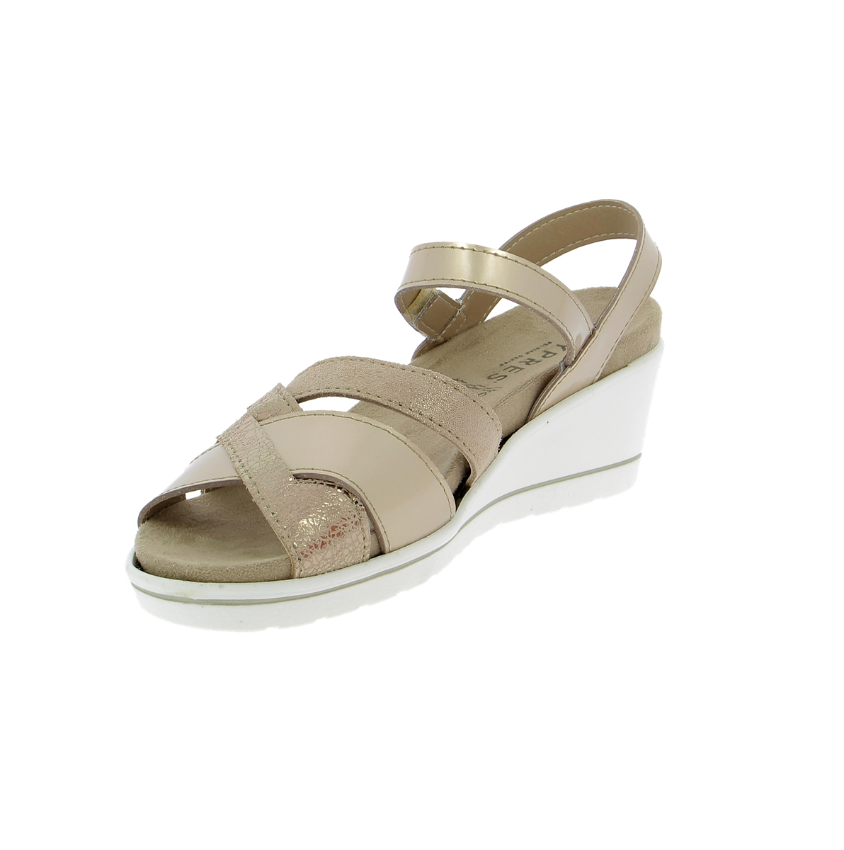 Cypres Muiltjes - slippers taupe