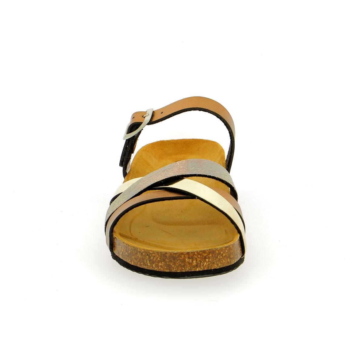 Cypres Muiltjes - slippers goud