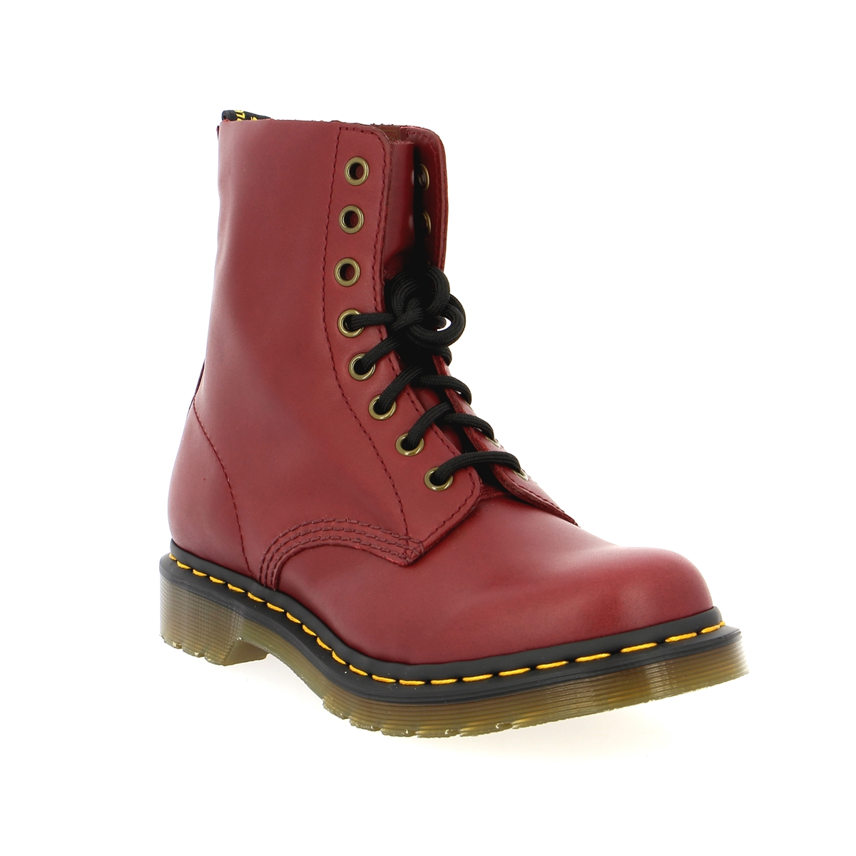 Bottinen Doc Martens rood