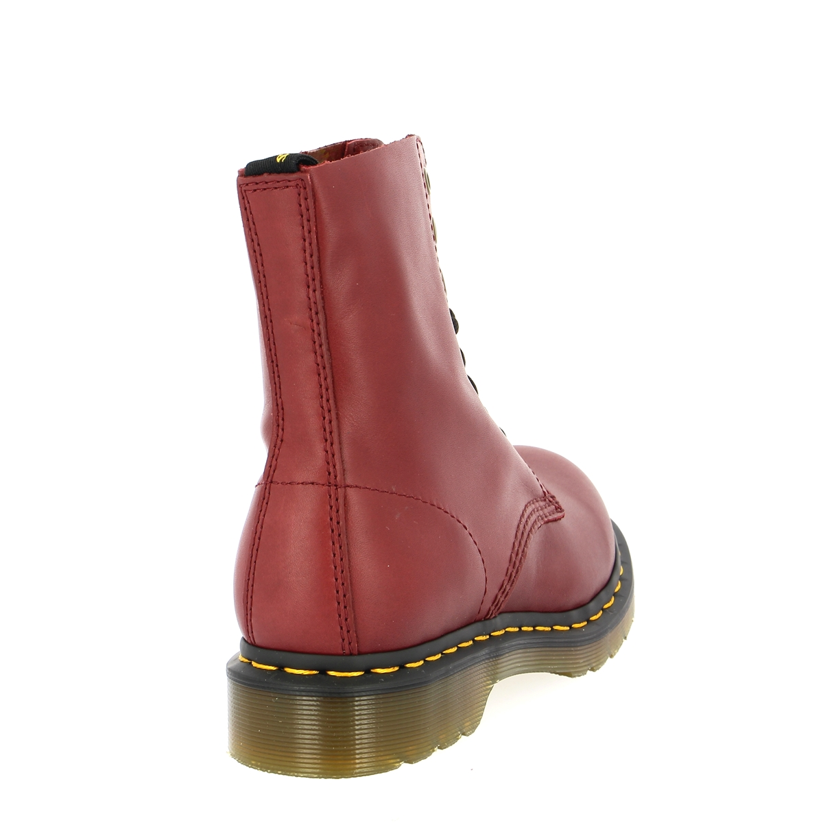 Doc Martens Bottines rouge