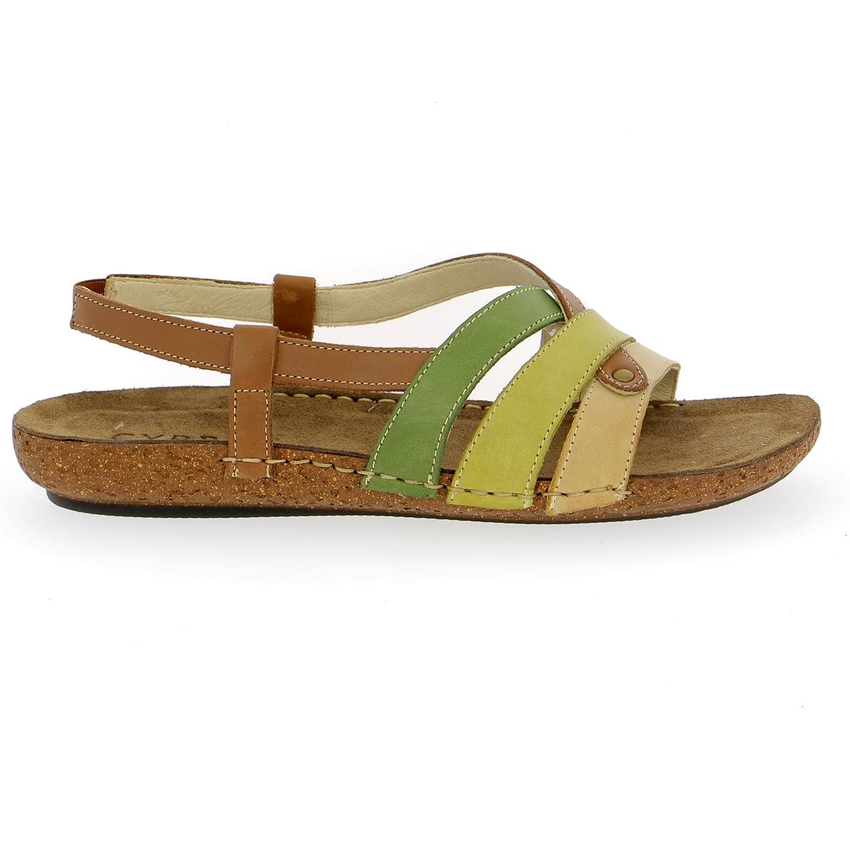 Cypres Sandales kaki