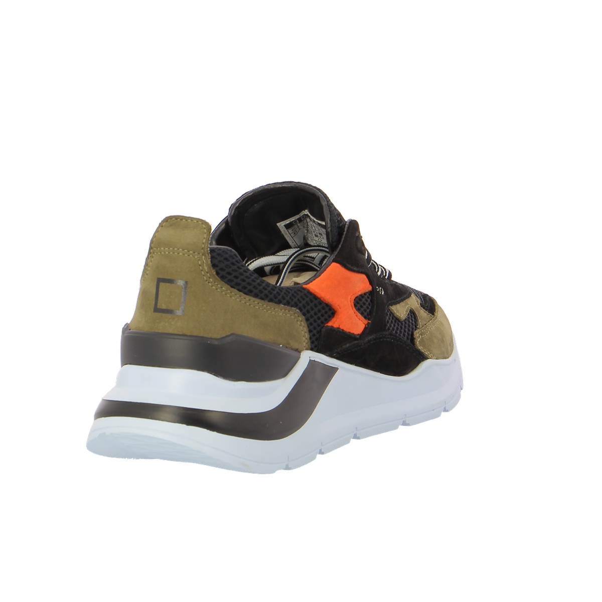 D.a.t.e. Sneakers zwart