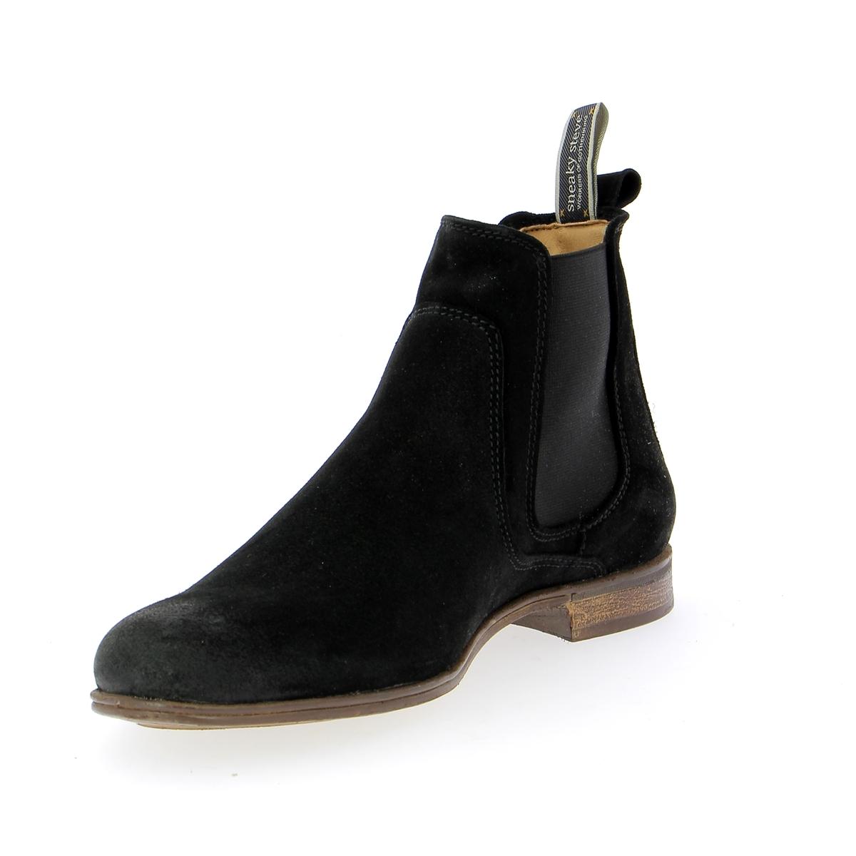 Sneaky Steve Boots noir