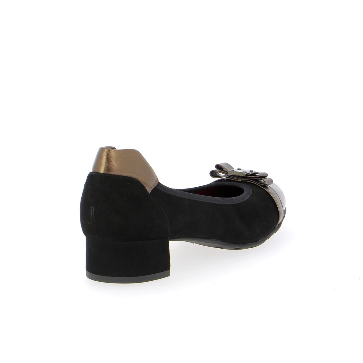Voltan Ballerinas zwart