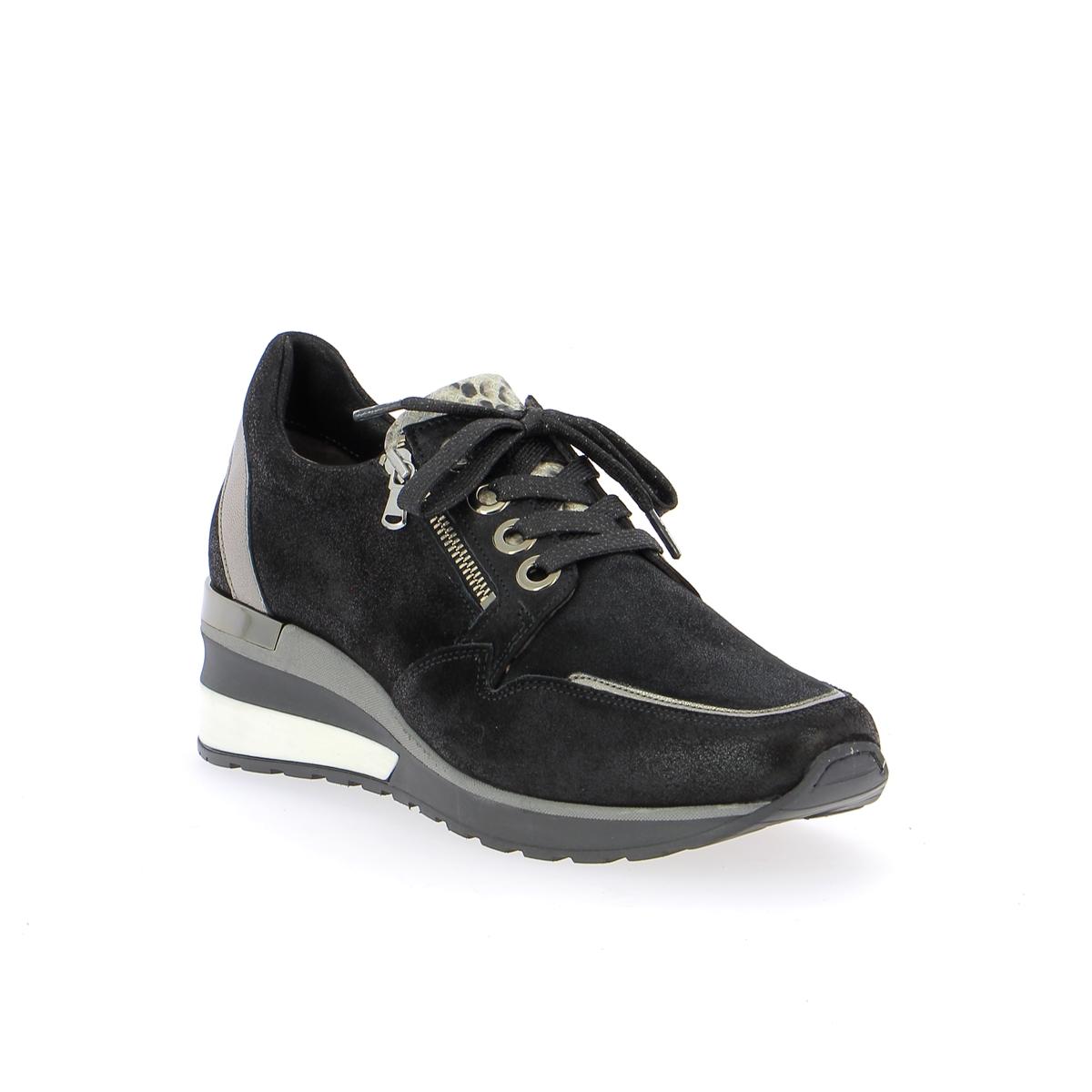 Softwaves Sneakers zwart