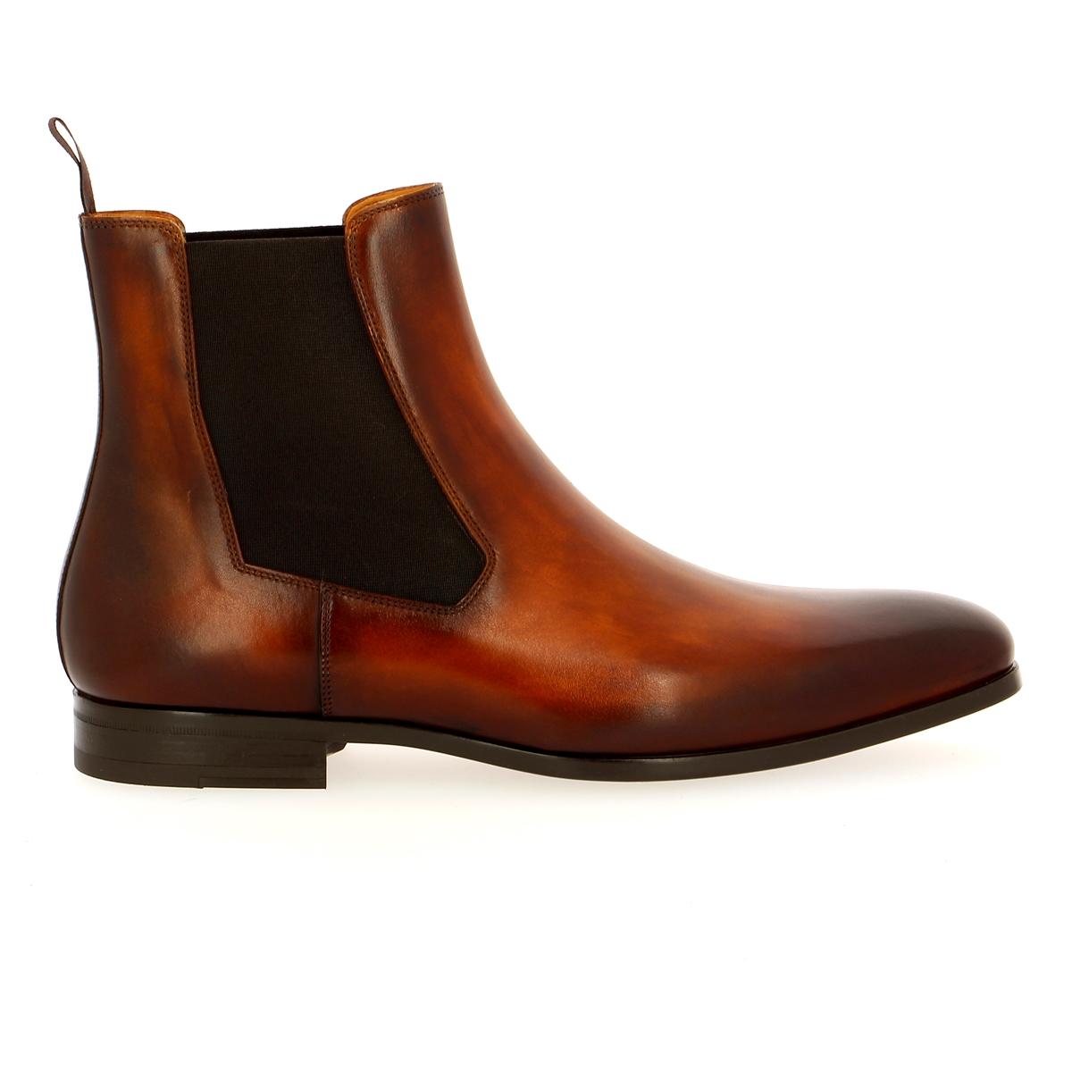Magnanni Boots cognac