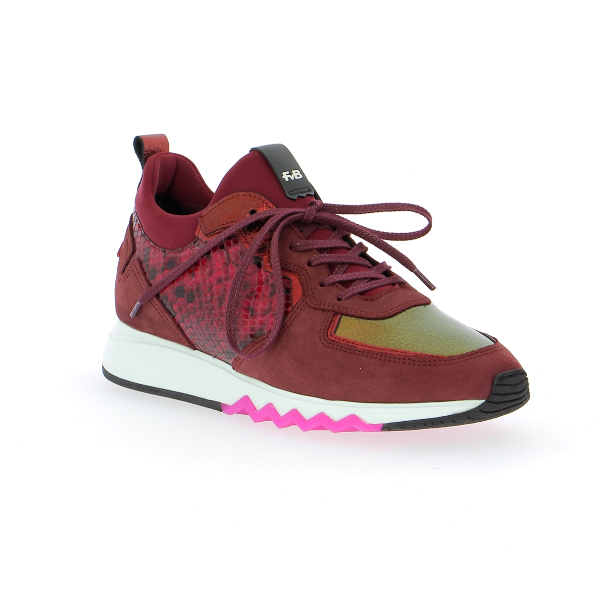Floris Van Bommel Sneakers bordeaux