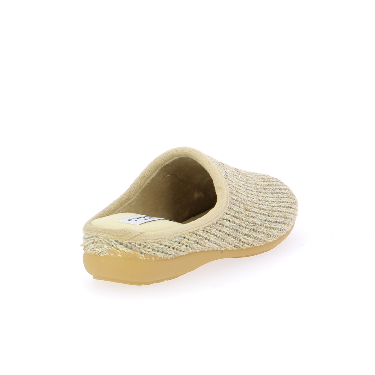 Cypres Pantoffels beige