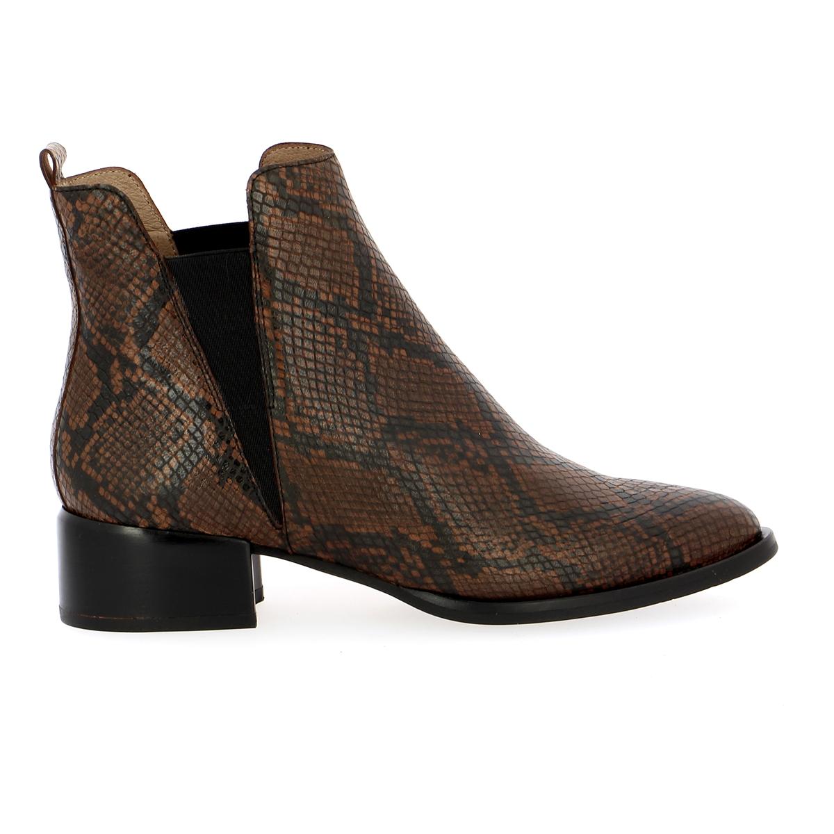 Wonders Boots cognac